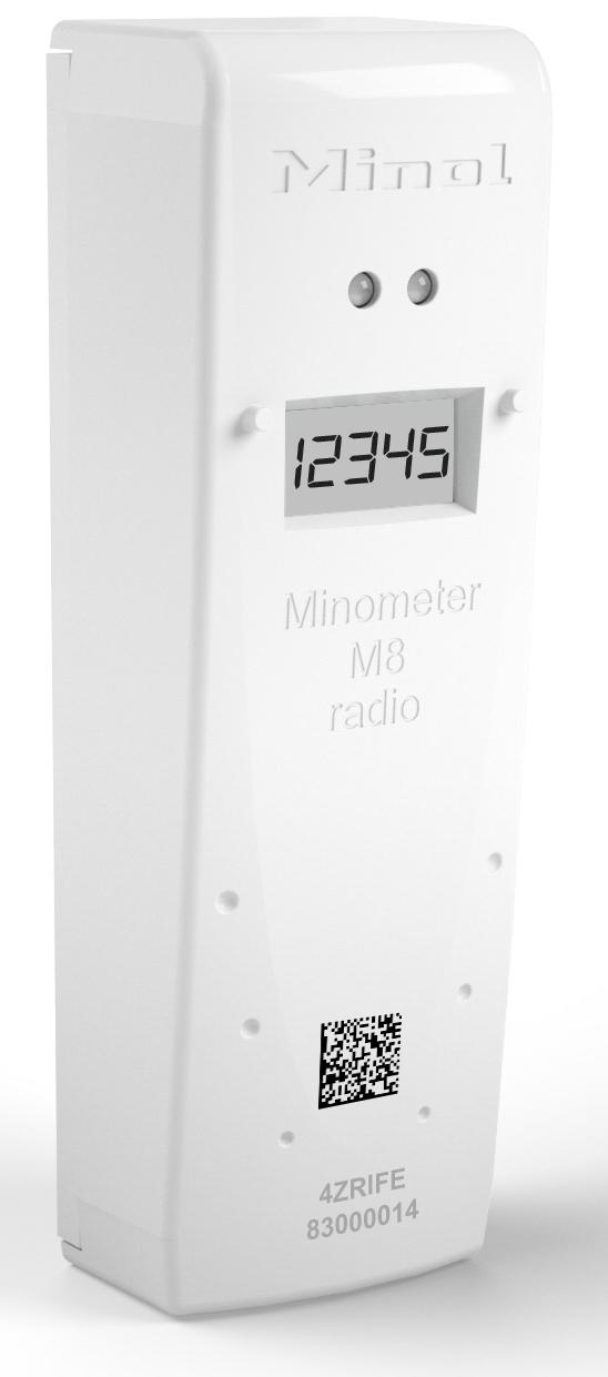 Minometer M8 radio - Brunata Minol